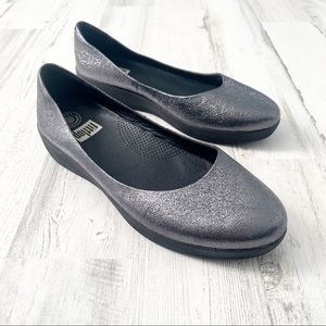Fitflop Superballerina Shoe - Metallic - Size 9